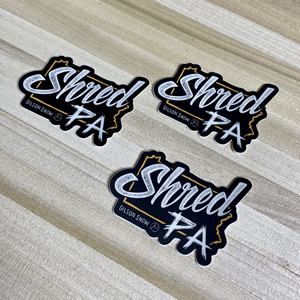Shred PA Stickers