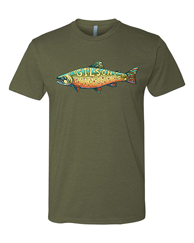 Trout Military Green Tee