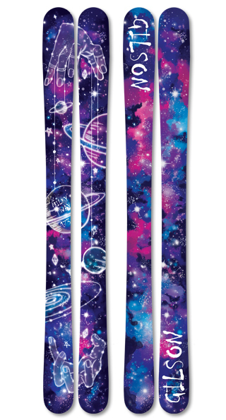 Milky way skis small