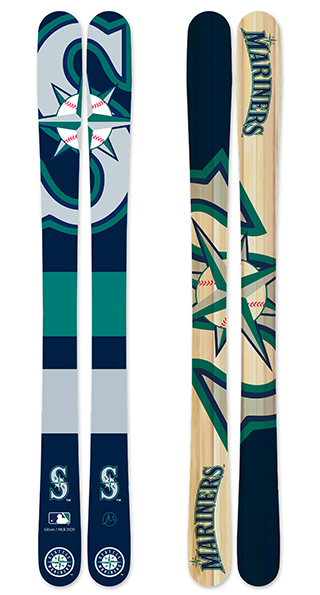 Mlb seattle mariners skis small