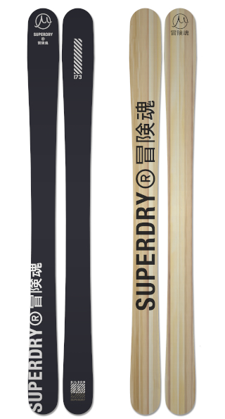 Superdry Gravity  Black Wood