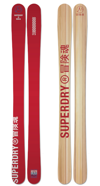 Superdry Gravity  Red Wood