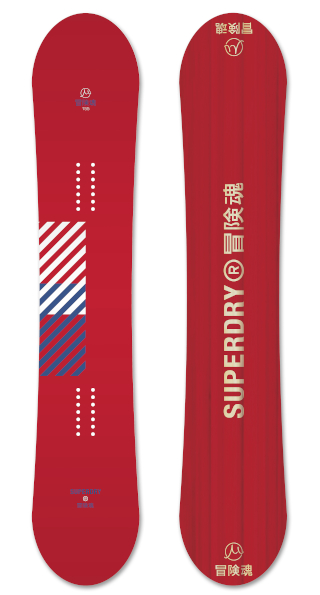 Superdry Gravity  Red