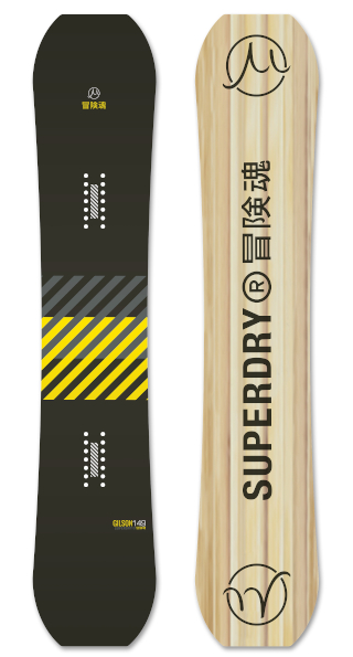 Superdry Stealth  Black Yellow